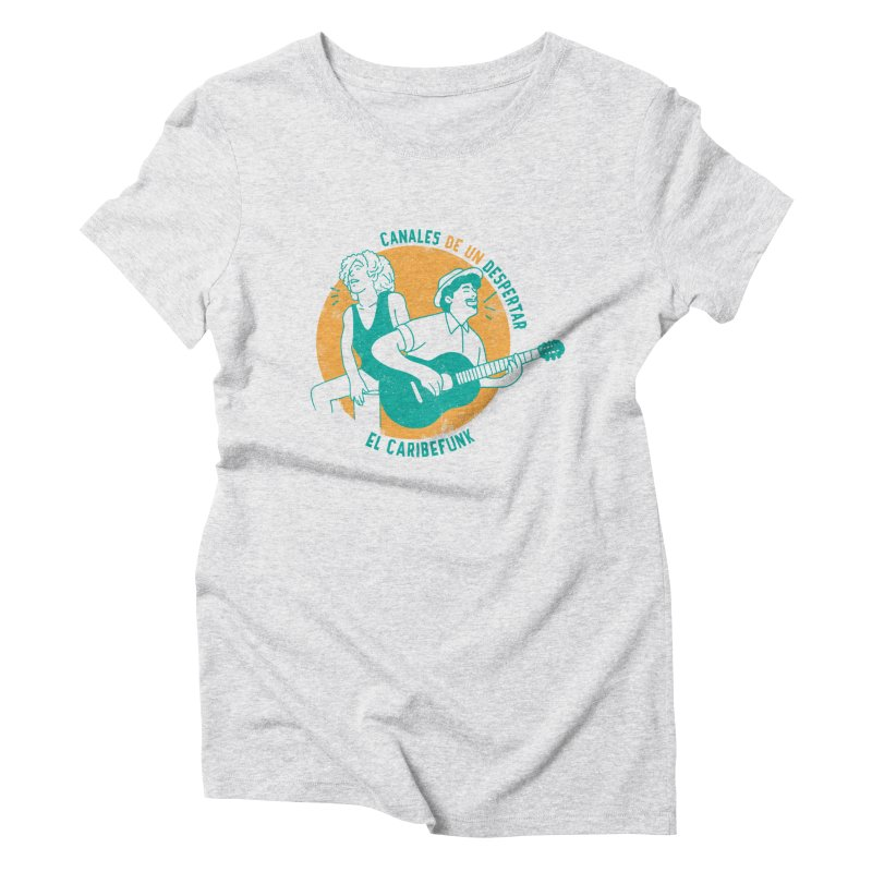 CANALES DE UN DESPERTAR Women's T-Shirt by Caribefunk Store
