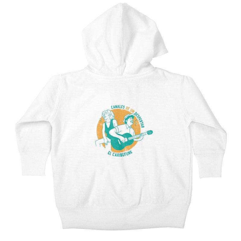CANALES DE UN DESPERTAR Kids Baby Zip-Up Hoody by Caribefunk Store