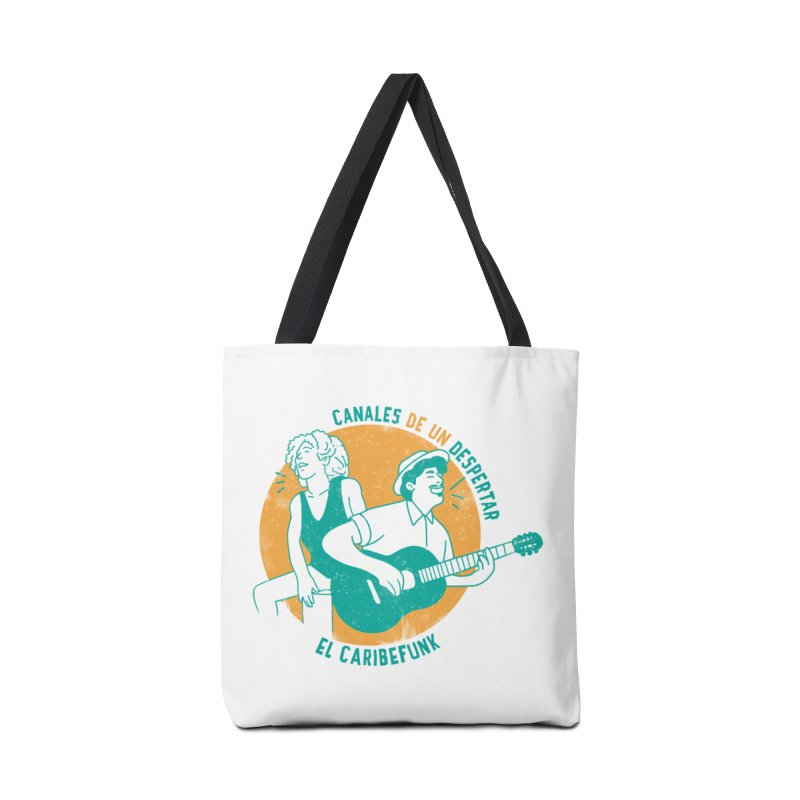 CANALES DE UN DESPERTAR Accessories Tote Bag Bag by Caribefunk Store