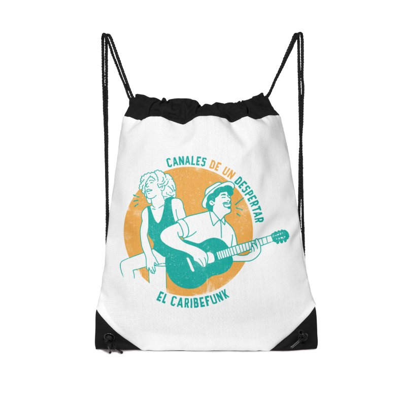 CANALES DE UN DESPERTAR Accessories Drawstring Bag Bag by Caribefunk Store
