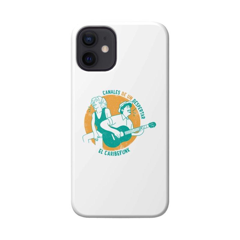 CANALES DE UN DESPERTAR Accessories Phone Case by Caribefunk Store