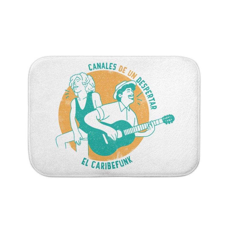 CANALES DE UN DESPERTAR Home Bath Mat by Caribefunk Store