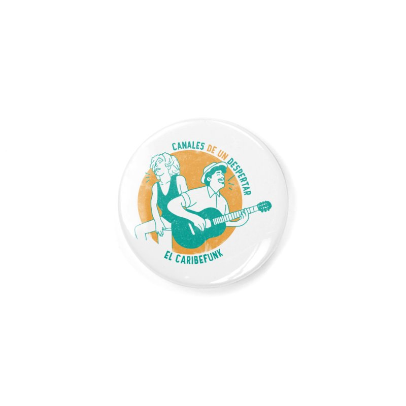 CANALES DE UN DESPERTAR Accessories Button by Caribefunk Store
