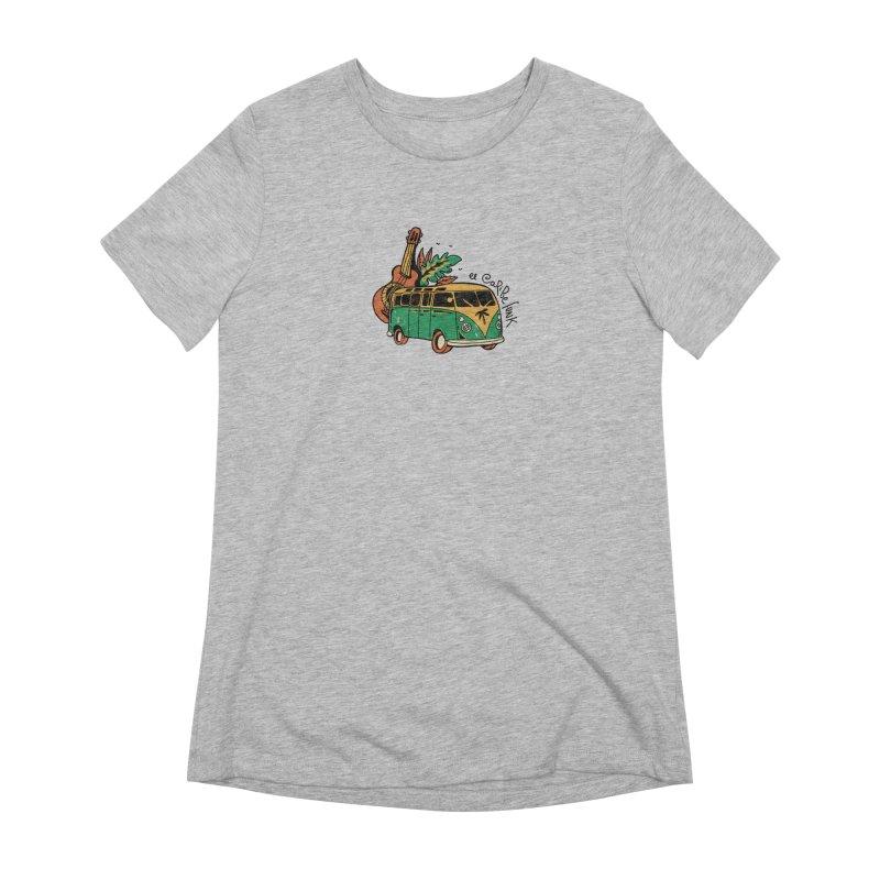 VIAJEROS Women's Extra Soft T-Shirt by Caribefunk Store