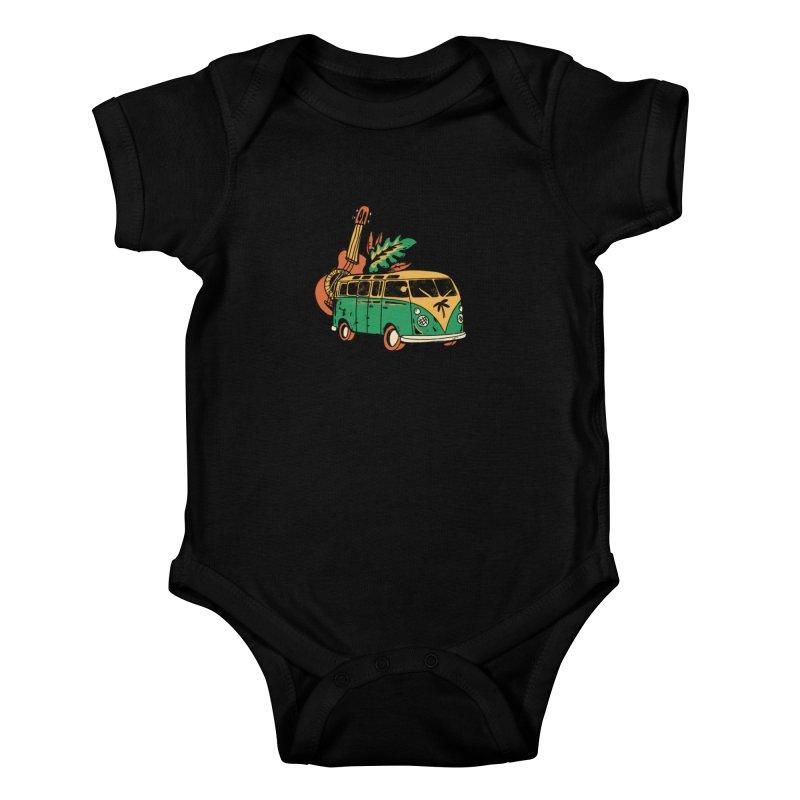 VIAJEROS Kids Baby Bodysuit by Caribefunk Store