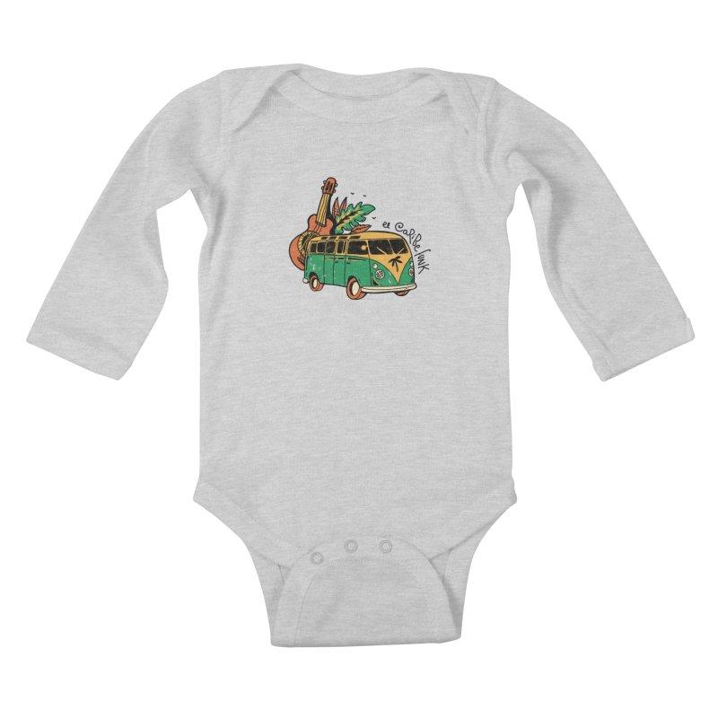 VIAJEROS Kids Baby Longsleeve Bodysuit by Caribefunk Store