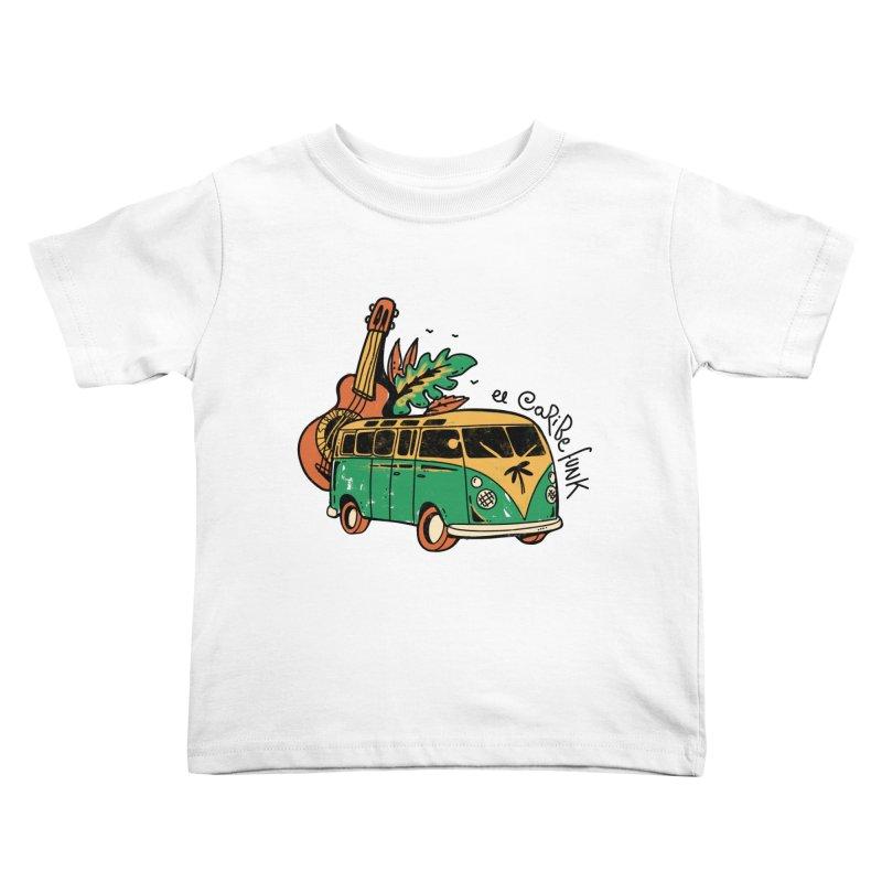 VIAJEROS Kids Toddler T-Shirt by Caribefunk Store
