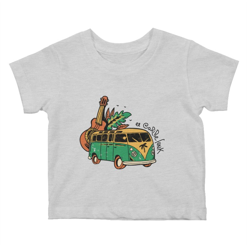 VIAJEROS Kids Baby T-Shirt by Caribefunk Store