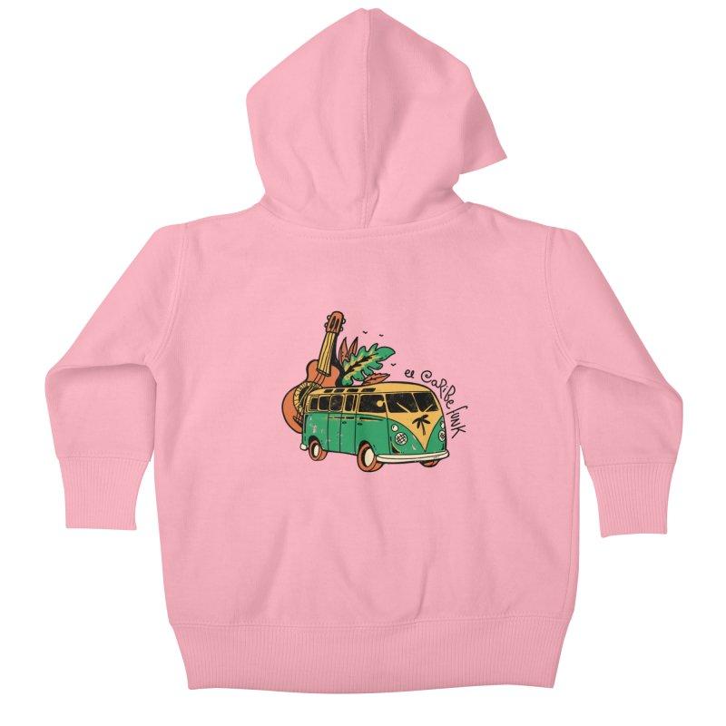 VIAJEROS Kids Baby Zip-Up Hoody by Caribefunk Store