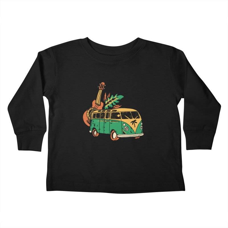 VIAJEROS Kids Toddler Longsleeve T-Shirt by Caribefunk Store