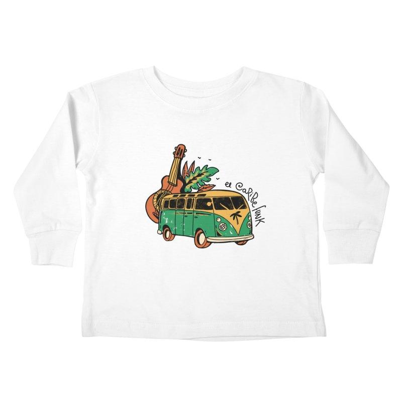 VIAJEROS Kids Toddler Longsleeve T-Shirt by Caribefunk Store