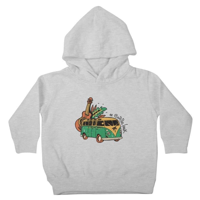 VIAJEROS Kids Toddler Pullover Hoody by Caribefunk Store