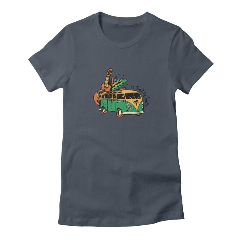 VIAJEROS Women's T-Shirt by Caribefunk Store