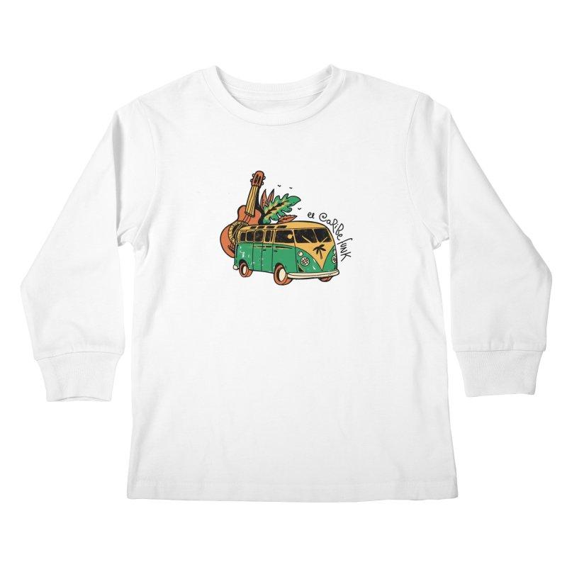VIAJEROS Kids Longsleeve T-Shirt by Caribefunk Store