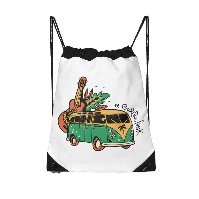VIAJEROS Accessories Drawstring Bag Bag by Caribefunk Store