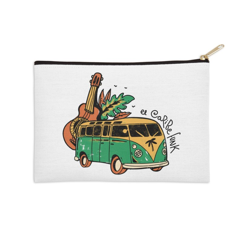 VIAJEROS Accessories Zip Pouch by Caribefunk Store
