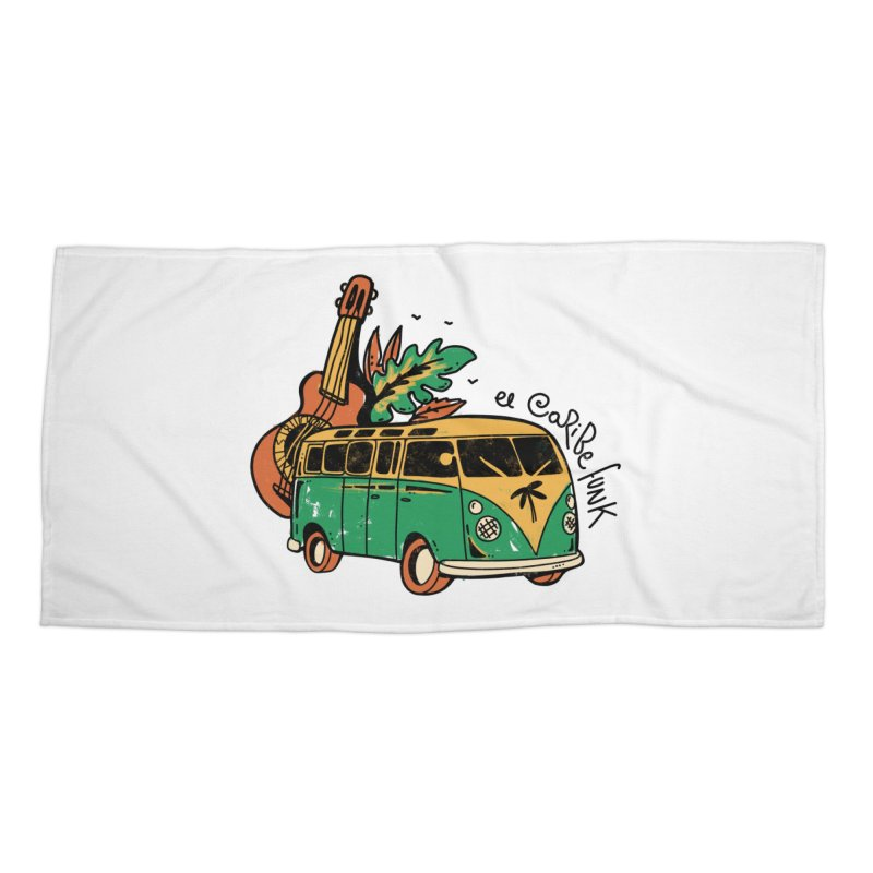 VIAJEROS Accessories Beach Towel by Caribefunk Store