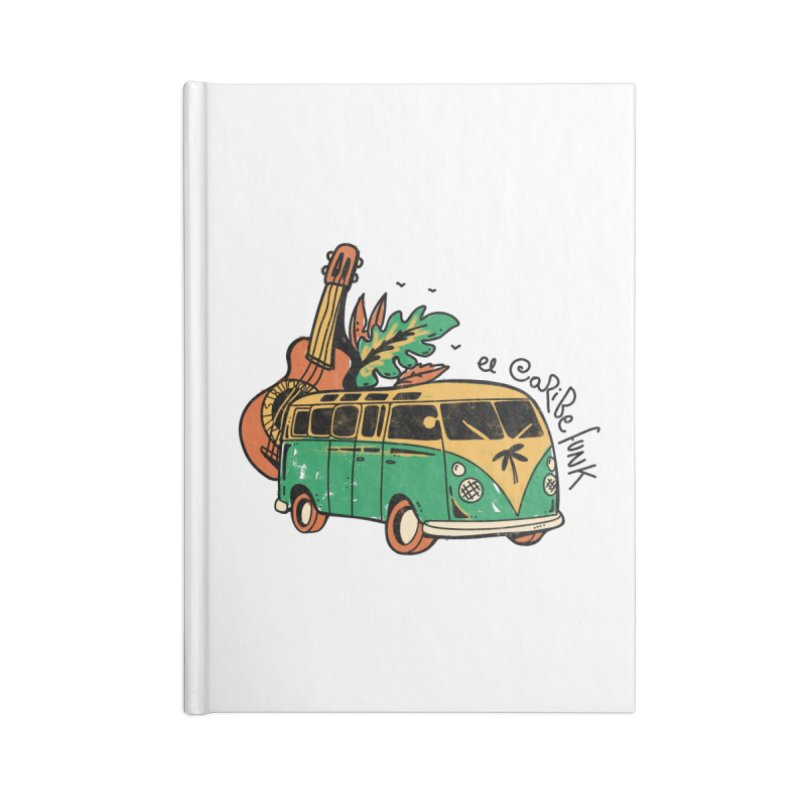 VIAJEROS Accessories Lined Journal Notebook by Caribefunk Store