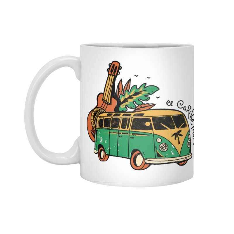 VIAJEROS Accessories Standard Mug by Caribefunk Store