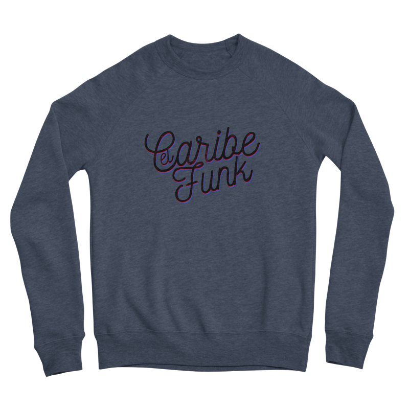 EL CARIBEFUNK Men's Sponge Fleece Sweatshirt by Caribefunk Store