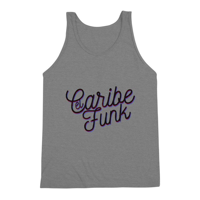 EL CARIBEFUNK Men's Triblend Tank by Caribefunk Store