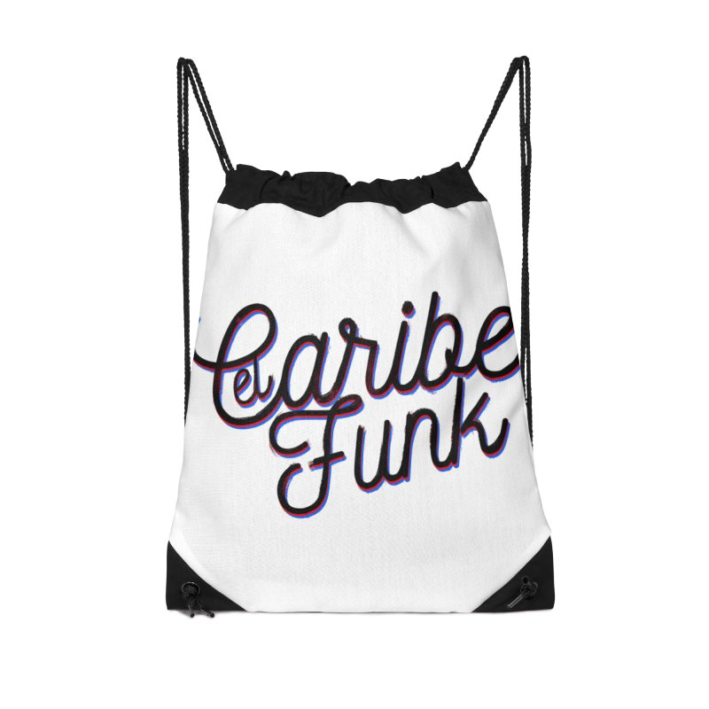 EL CARIBEFUNK Accessories Drawstring Bag Bag by Caribefunk Store