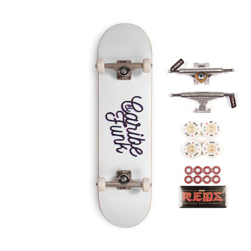 EL CARIBEFUNK Accessories Complete - Pro Skateboard by Caribefunk Store