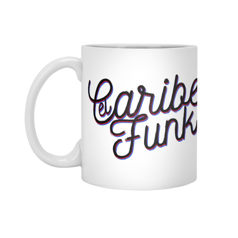EL CARIBEFUNK Accessories Standard Mug by Caribefunk Store