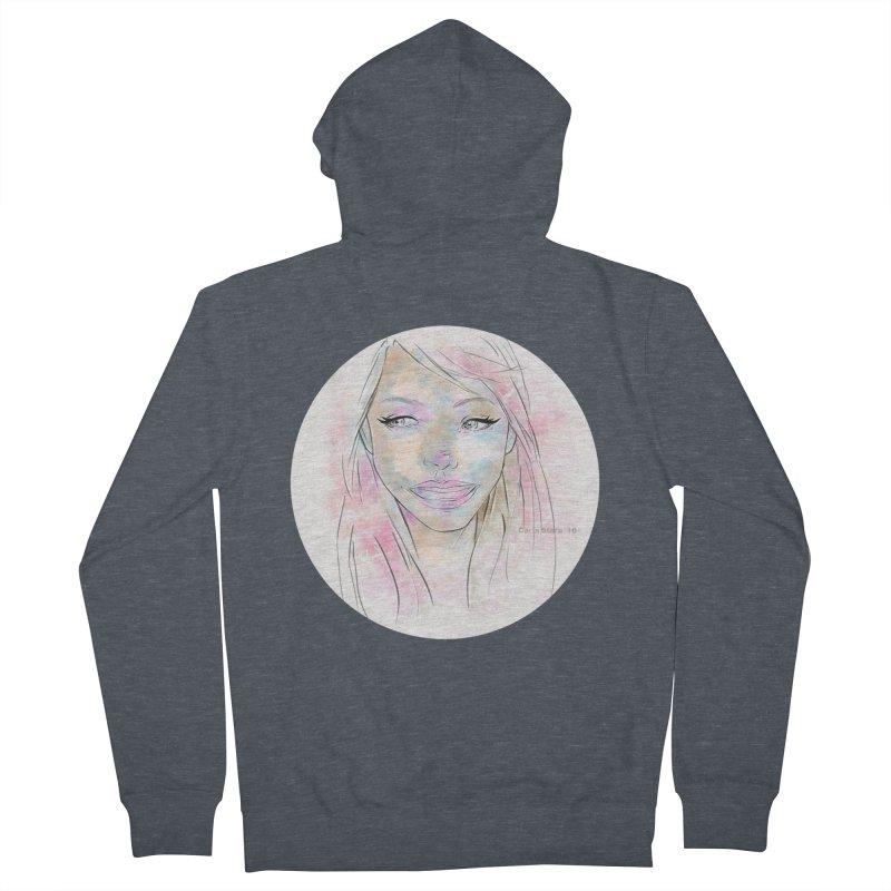Universe 1 Women's Zip-Up Hoody by carla's Artist Shop