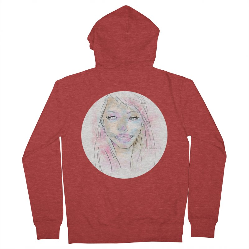 Universe 1 Women's Zip-Up Hoody by carla's Artist Shop