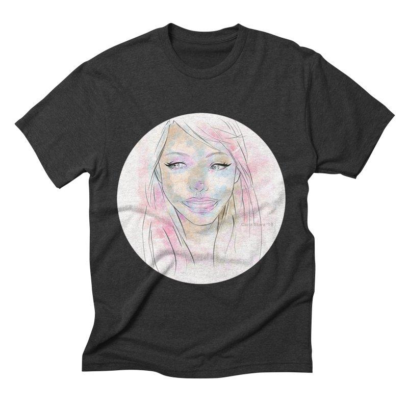 Universe 1 Men's Triblend T-shirt by carla's Artist Shop