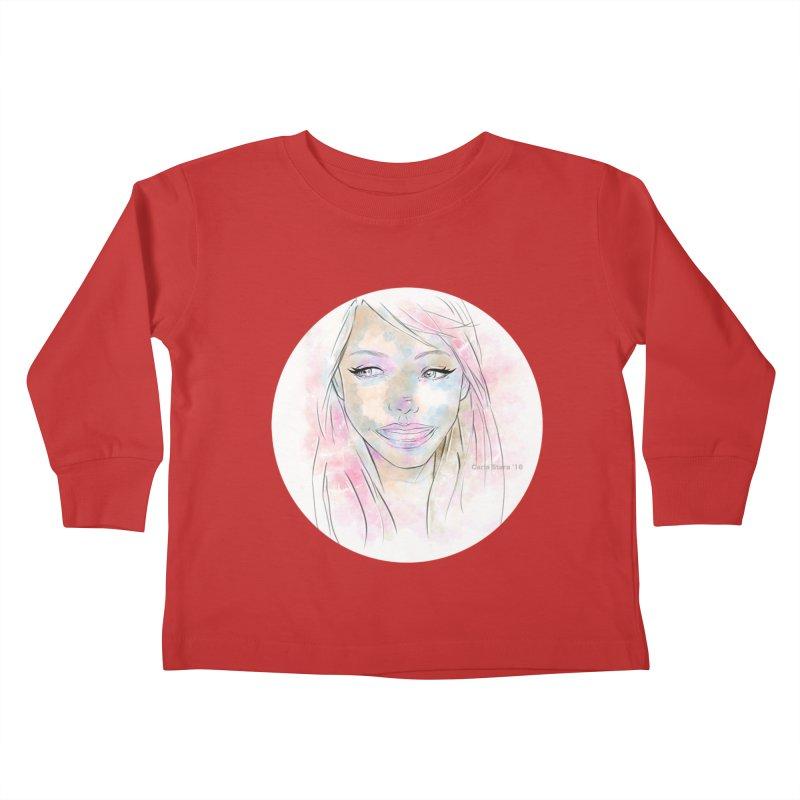 Universe 1 Kids Toddler Longsleeve T-Shirt by carla's Artist Shop