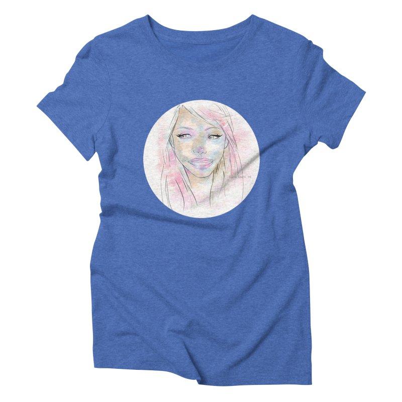 Universe 1 Women's Triblend T-shirt by carla's Artist Shop