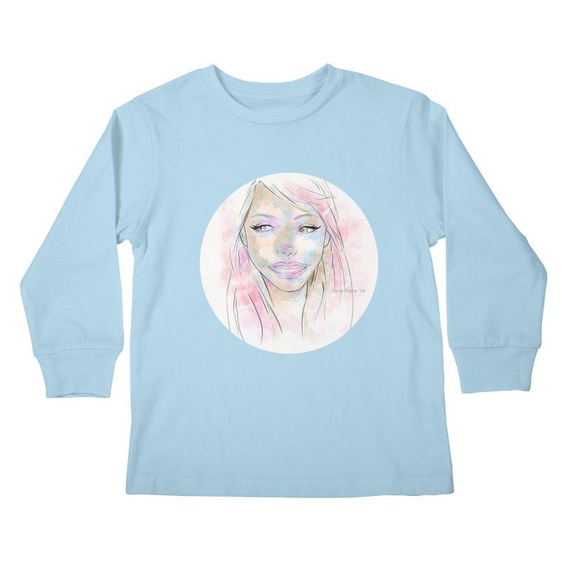 Universe 1 Kids Longsleeve T-Shirt by carla's Artist Shop