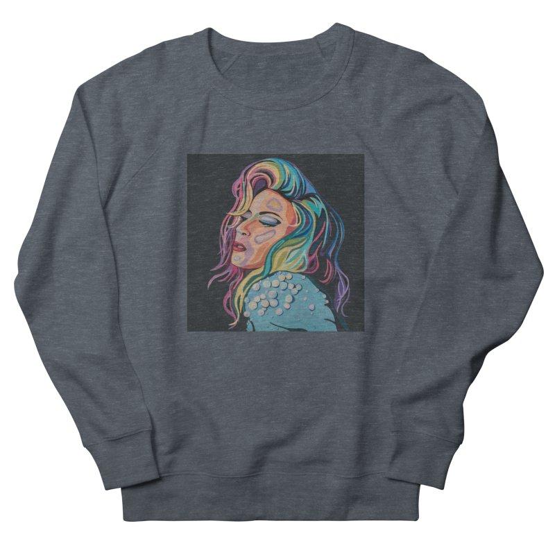 Gaga Women's French Terry Sweatshirt by Carla Mooking Artist Shop