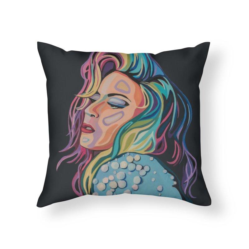 Gaga Home Throw Pillow by Carla Mooking Artist Shop