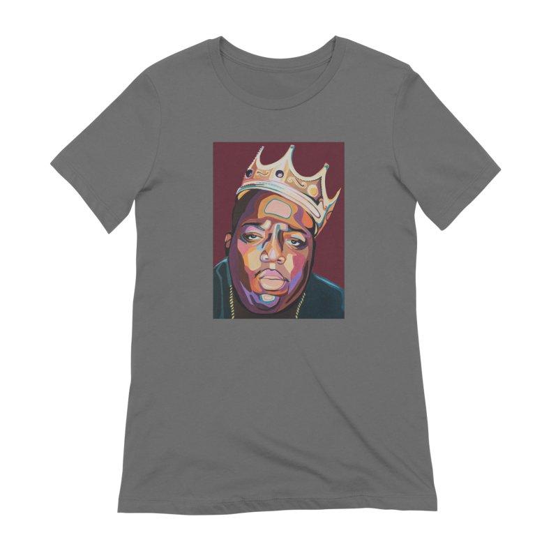 Biggie Women's T-Shirt by Carla Mooking Artist Shop