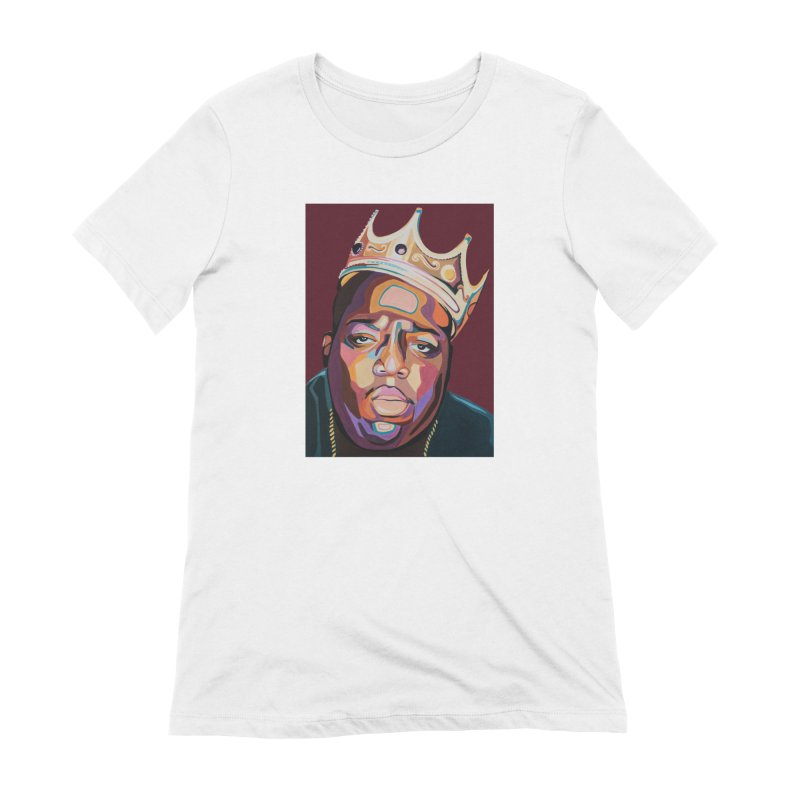 Biggie Women's Extra Soft T-Shirt by Carla Mooking Artist Shop
