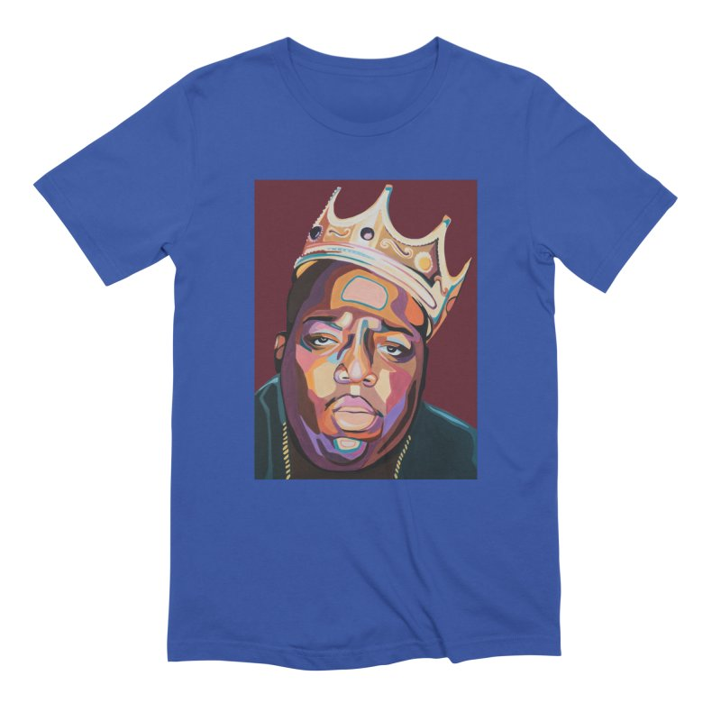 Biggie Men's Extra Soft T-Shirt by Carla Mooking Artist Shop
