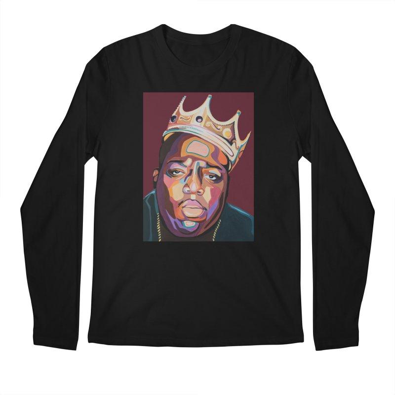Biggie Men's Longsleeve T-Shirt by Carla Mooking Artist Shop