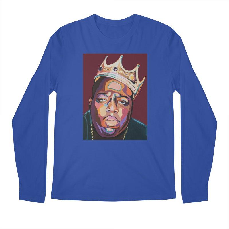 Biggie Men's Regular Longsleeve T-Shirt by Carla Mooking Artist Shop
