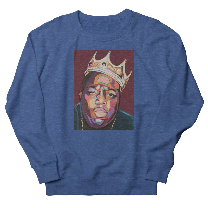 Biggie Men's Sweatshirt by Carla Mooking Artist Shop