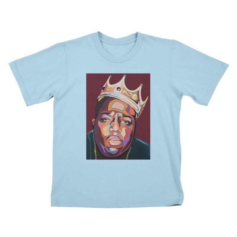 Biggie Kids T-Shirt by Carla Mooking Artist Shop
