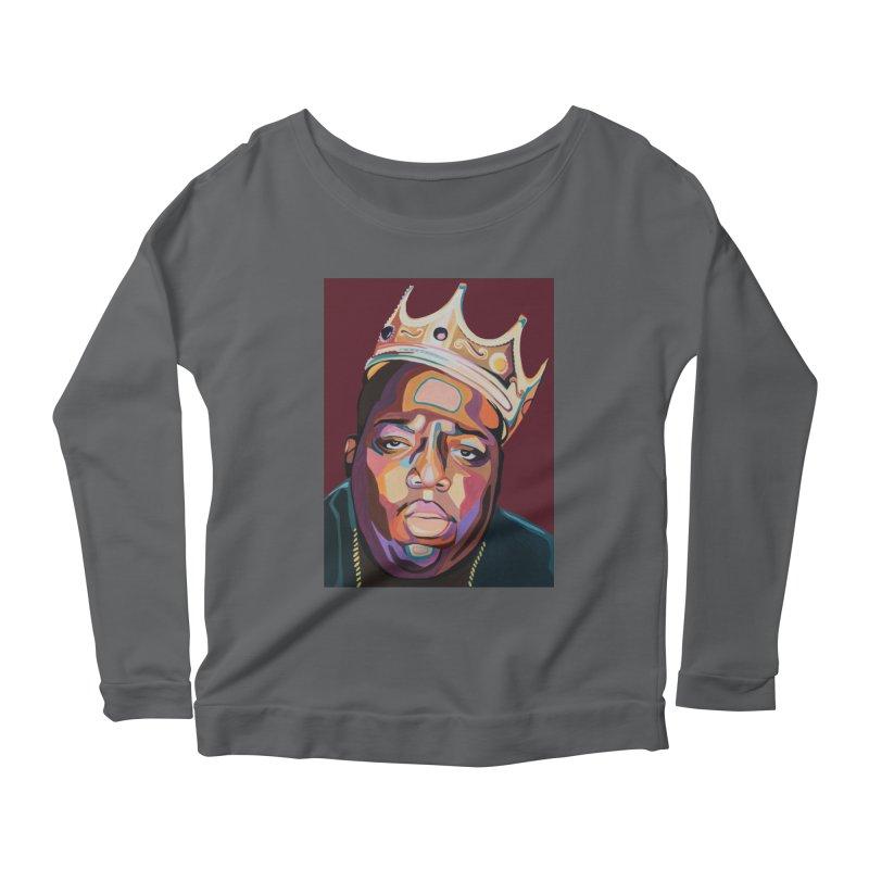 Biggie Women's Longsleeve T-Shirt by Carla Mooking Artist Shop