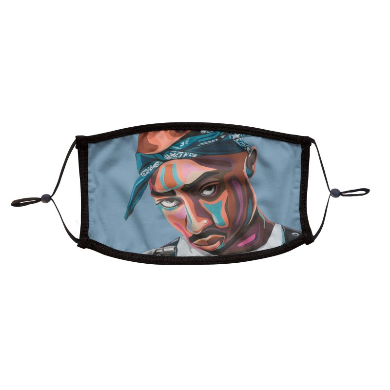 Tupac Accessories Face Mask by Carla Mooking Artist Shop