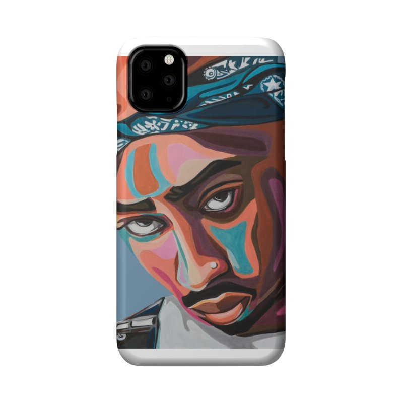 Tupac Accessories Phone Case by Carla Mooking Artist Shop