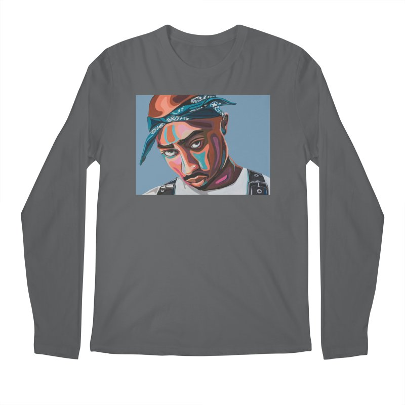 Tupac Men's Longsleeve T-Shirt by Carla Mooking Artist Shop