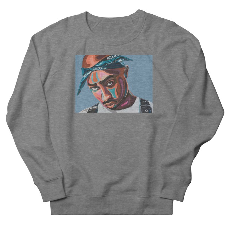 Tupac Men's Sweatshirt by Carla Mooking Artist Shop