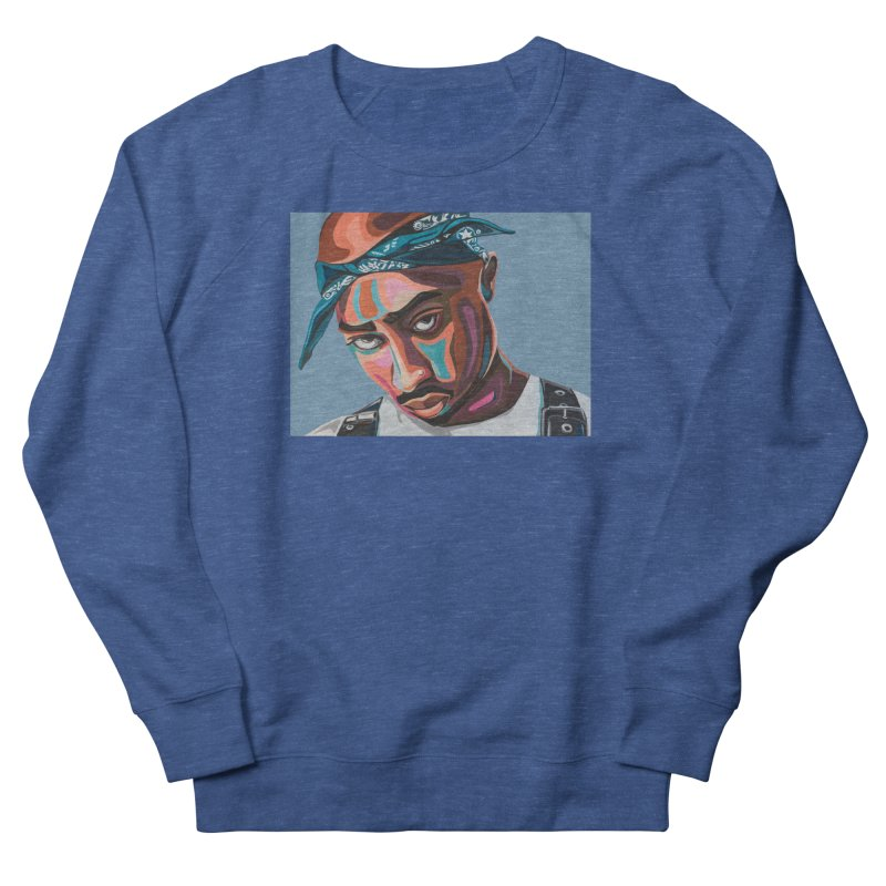 Tupac Men's Sweatshirt by Carla Mooking Artist Shop