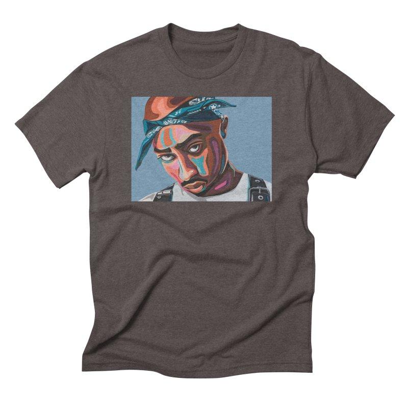 Tupac Men's T-Shirt by Carla Mooking Artist Shop